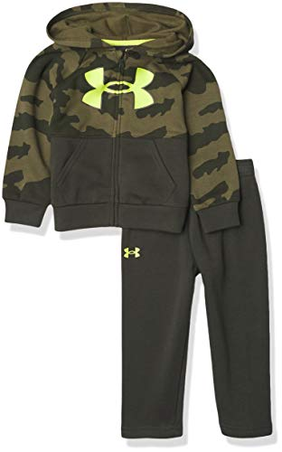 Under Armour Boys' UA Fury CAMO Set, Baroque Green-F20, 4T