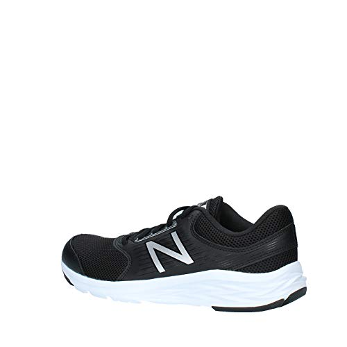 New Balance 411, Zapatillas de Running Hombre, Black (Black/White), 45 EU