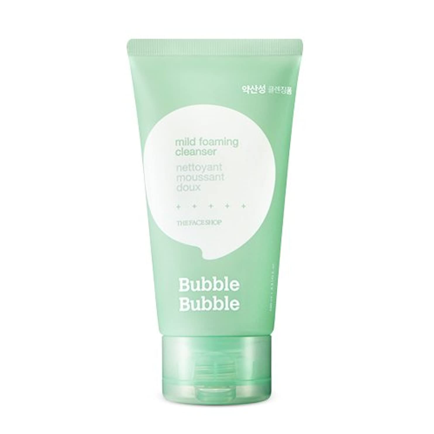 曇った虎勇気THE FACE SHOP Bubble Bubble Foaming cleanser (2.Mild) / ザ?フェイスショップバブルバブルクレンジングフォーム [並行輸入品]