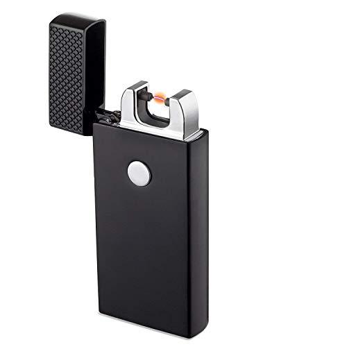 Encendedor USB, TECCPO Encendedor Electrico sin Llama, Batería Interna de 280 mAh,...