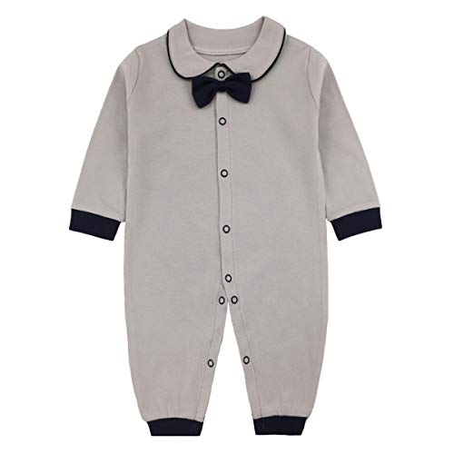 Newborn Baby Boys Girls Formal Bowtie Collar...