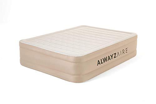 Bestway AlwayzAire Advanced Luftbett mit integrierter Elektropumpe Double XL/Hi, 203 x 152 x 51 cm