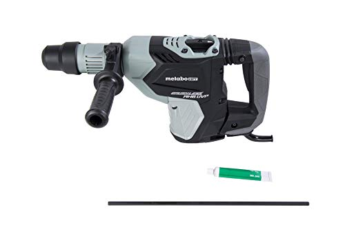 Metabo HPT Rotary Hammer Drill | 1-9/16-Inch | SDS Max | AC Brushless Motor | AHB Aluminum Housing Body | UVP User Vibration Protection (DH40MEY) (Renewed)