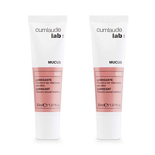 CUMLAUDE Mucus Duplo - Gel Lubricante Íntimo que Reduce la Sequedad Vaginal - 30 ml x 2