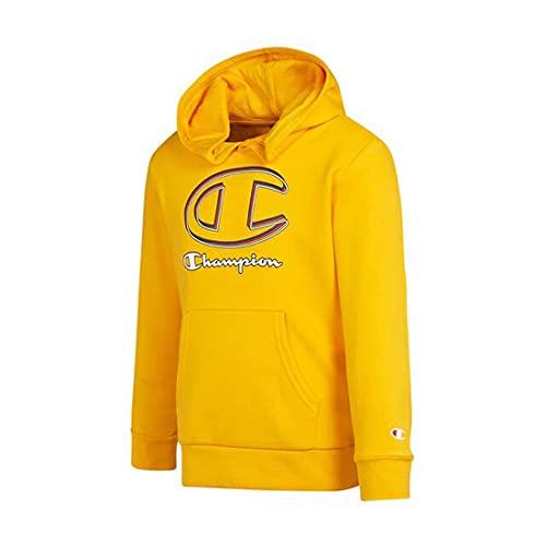 Champion Graphic Shop Sweatshirt à Capuche, Jaune, 15-16 Ans Garçon