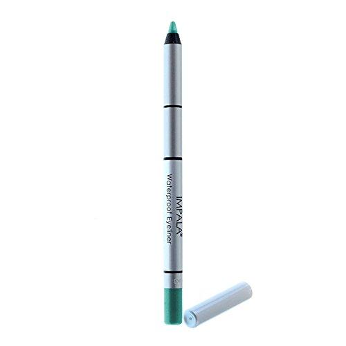 Impala - Lápiz de ojos waterproof cremoso Color Verde azula