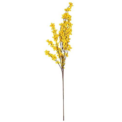 UKtrade - Ramo de Flores Artificiales para decoración de Mesa de Comedor con diseño de peonías