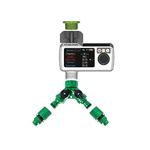 Festnight Regensensor Intelligente Tropfbewässerungssystemsteuerung Bewässerungstimer Gartenbewässerungstool Automatischer intelligenter Timer