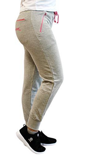Softee Pantalon pour Femme XS Gray/Pink