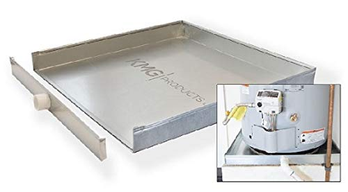 "The Square Water Heater Pan with Detachable Front (22"" x 22"" x 2-1/2"")"