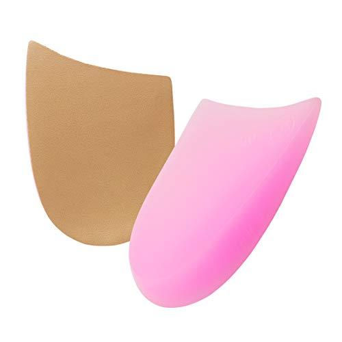 O/X Typ Bein Orthopädische Einlegesohle Soft Gel Füße Pads, Größe für Frauen Herren + atmungsaktiv Gel Absatzschoner Handschuh Kissen Tassen