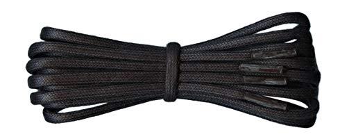 Fabmania round cordones de algodón encerados - 4.5 mm - Ideal para calzado deportivo y casual - 16 colores - Longitud de 90 a 240 cm - Hecho en Inglaterra