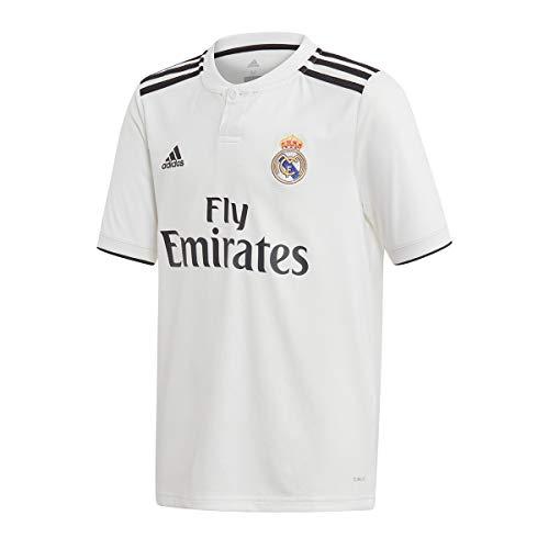 adidas Maillot Unisexe pour Enfant Real Madrid Domicile - Ma