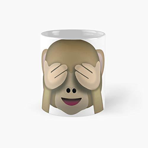 See No Evil Monkey Emoji Classic Mug