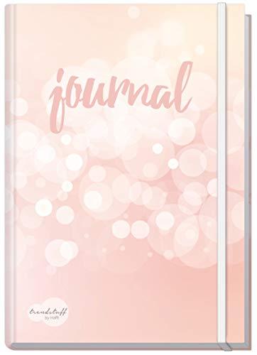 Bullet Journal dotted A5 mit Gummiband [Dreamy] von Trendstuff by Häfft   Notizbuch, Tagebuch - stilvoll, robust, biegsam, abwischbares Cover