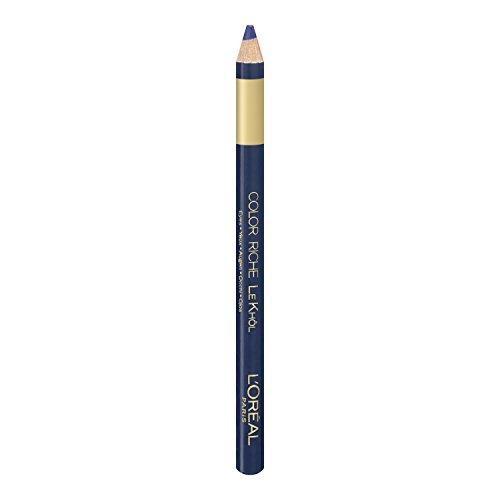 L'Oréal Paris Color Riche Le Khôl, 107 Deep Sea Blue - präziser und farbintensiver Kohl Kajal für perfekt betonte und ausdrucksstarke Augen, 1er Pack (1 x 1,1,5 g)