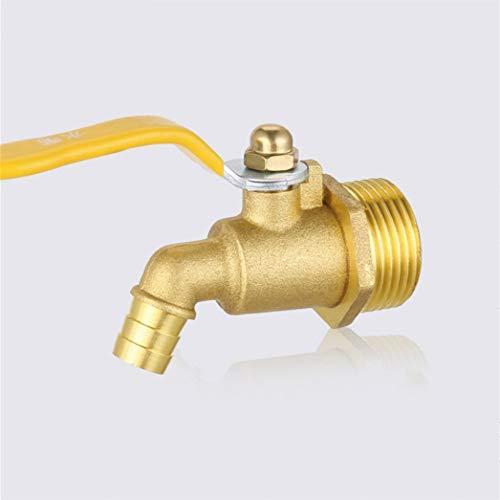 LLLYZZ messing warmwatersproeier draad dubbel warm en koud water snel water Bibcocks waterkraan accessoires
