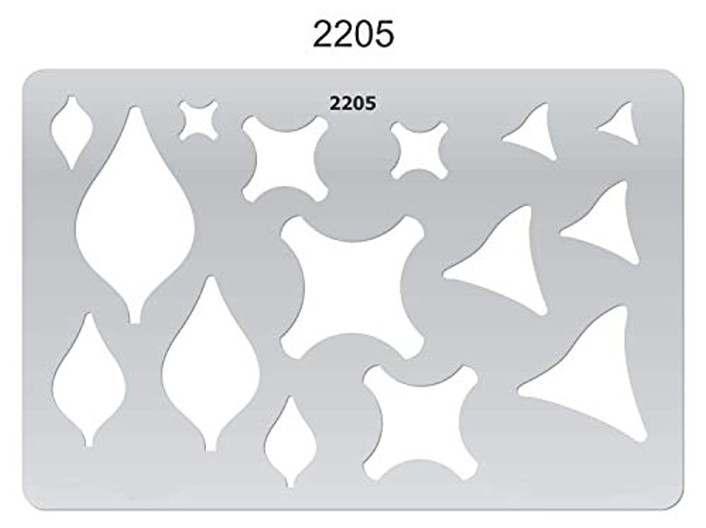 Isomars Creative Shapes Template - Jacks and Flames 2205