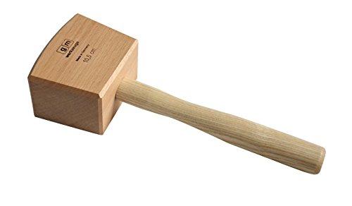 GM Schreinerklüpfel 10,5 cm Gr.1, Klüpfel Holzhammer aus Rotbuchenholz GM - Qualität