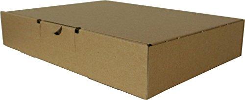 25 Stück Maxibrief Warensendung Karton Versandkartons Außenmaße 240 x 160 x 50