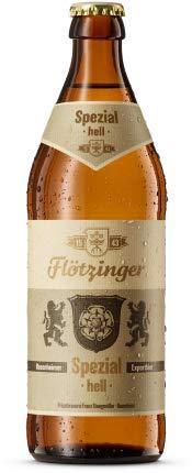 Flötzinger Spezial Hell 12 Flaschen x0,5l