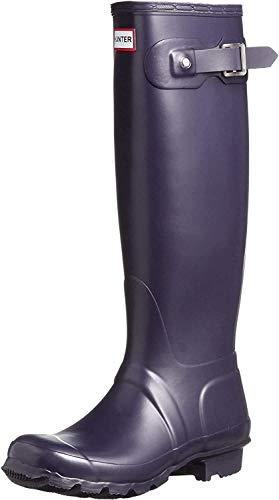 Hunter Original Tall, Botas Unisex, Morado (Aubergine), 38 EU