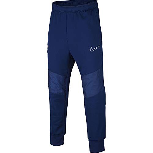 Nike Jungen Dri-Fit Cr7 Hose, Blauer Hohlraum/Hyperjade/Metallic Silber, M