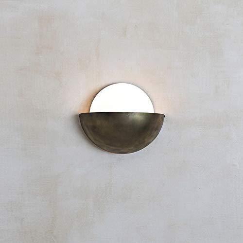 HDHUA Nachttischlampe Creative-Wohnzimmer-Wand-Lampe Einfaches Moderne Metall-Bett Studio Arts Designer Modell-Raum-Wand-Lampen-LED 33 * 28cm