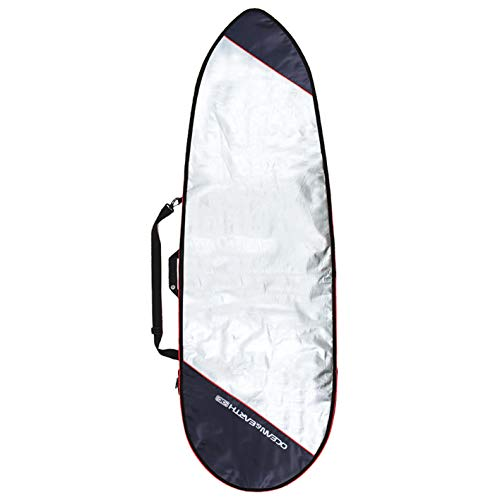 Ocean&Earth Barry Basic Fish Boardcover, Farbe:Red, Größe:6'8