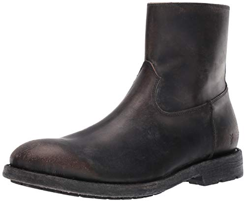 FRYE Herren Bowery Inside Zip modischer Stiefel, schwarz, 39.5 EU