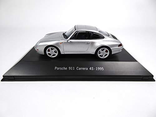 Atlas Porsche 911 Carrera 4S (993) 1995 grau1 / 43 - Ref: 4009
