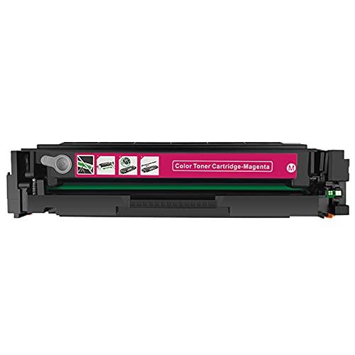 HYYH Compatible para el reemplazo del Cartucho de tóner HP CF400A para HP Color Laserjet Pro M252DW 252N MFPM277DW 277N 274N Impresora con Chip, impresión de Oficina Colo Magenta