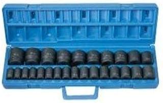 "Grey Pneumatic 1326M 1/2"" Dr. 26 Pc. Shallow Metric Socket Set"