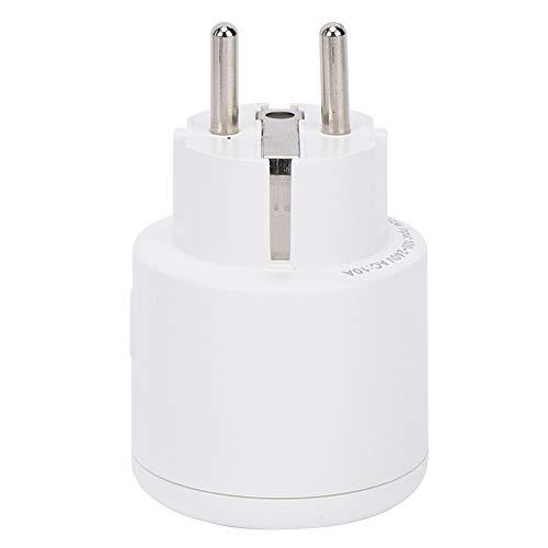 EVTSCAN Enchufe Inteligente, Acuario WiFi Smart Socket Electrónica para el hogar Sistema de Control Remoto 100-240V EU Plug 10A