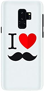 Stylizedd Samsung Galaxy S9 Plus Slim Snap Case Cover Matte Finish - I Love Moustashe