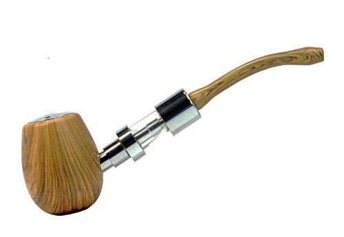 Kamry K1000 Effet de bois de noix - mécanique Mod ePipe eCig Électronique de bois e pipe Vaporisateur - Kit...