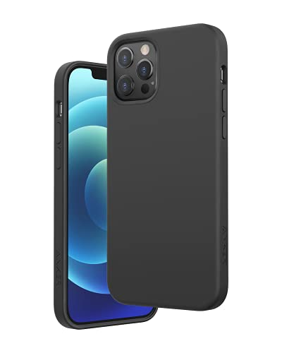 Anker Magnetic Silicone Case for iPhone 12 & 12 Pro (iPhone 12 & 12 Pro用MagSafe対応 ケース) ダークグレー