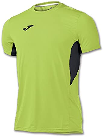 Joma/ /T-Shirt Record Rose Fluo Manches Courtes pour Homme