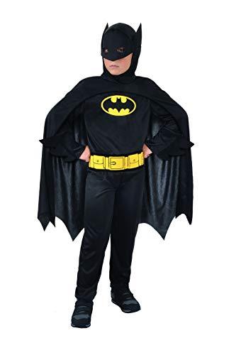 Ciao- Batman Dark Knight Costume Bambino Originale DC Comics (Taglia 5-7 Anni), Colore, 11670.5-7