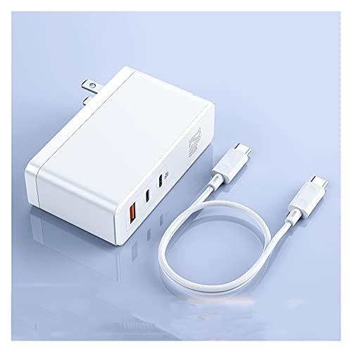 XBHD Pxbhd Cargador 120W C PD Fast CARGER QC4.0 QC3.0 Cargador de teléfono móvil portátil de Carga rápida para i-teléfono para M-Acbook Tablet Portátil (Plug Type : US Plug Charge White)