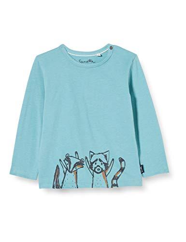 Sanetta Baby-Jungen Ice Blue Kleinkind T-Shirt-Satz, blau, 074