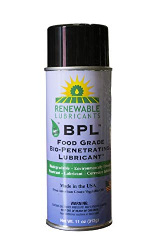 Renewable Lubricants - 87002 Food Grade Bio-Penetrating Lubricant, Multipurpose, 11 oz Aerosol Can