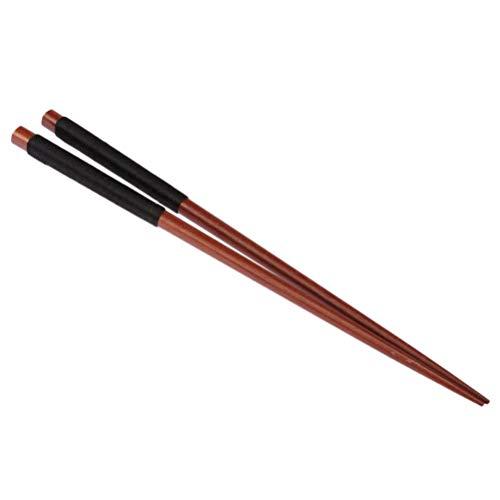 BESTONZON 5 Pairs/Box Hardwood Chopsticks Lightweight Chopstick Set Reusable Classic Style,Wooden Chopsticks for Kitchen Dinner