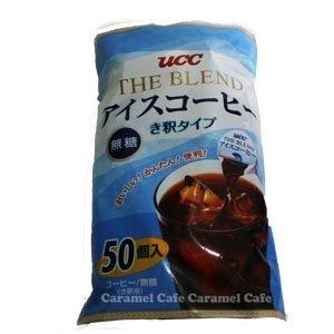 UCC上島珈琲 ザ・ブレンド アイスコーヒー ポーション IceCoffee き釈タイプ 無糖 900g 50コ入り