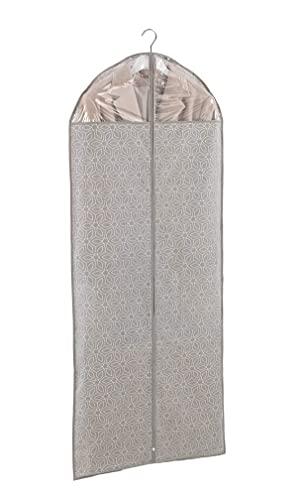 WENKO Sacco portabiti Balance - Custodia per indumenti, protezione sicura, custodia per completi uomo e abiti, Polipropilene, 60 x 150 cm, Tortora