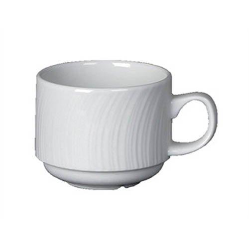 Steelite v7753Spyro stapelbare Becher, 85ml, Weiß (12Stück)