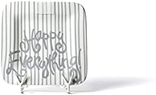 HAPPY EVERYTHING! Stone Skinny Stripe Mini Platter