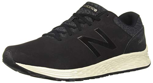 New Balance Women's Fresh Foam Arishi V1 Running Shoe, Black/Magnet/Light Gold/Metallic, 9 D US