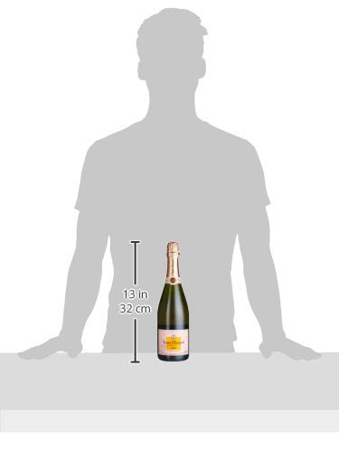 Veuve Clicquot Rosé Champagner mit Geschenkverpackung (1 x 0.75 l) - 8