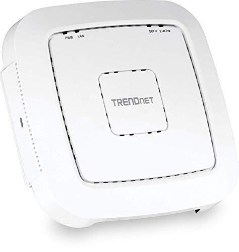 TRENDnet TEW-821DAP - Punto de Acceso PoE Wireless de Banda Dual AC1200...